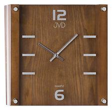 * Orologio da parete in legno design con supporto in vetro idea regalo