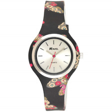 RAVEL Womens Analogue Classic Quartz Watch with Silicone Strap R1806.03