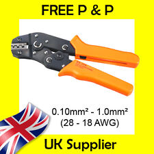 0.10-1.0mm2 Econoseal, Superseal Tyco Terminal Cable Crimp Tool PREMIUM Ratchet