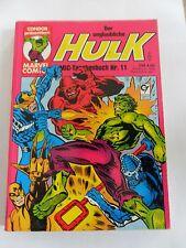 1x Comic Marvel - Hulk Nr. 11 (Condor Taschenbuch)