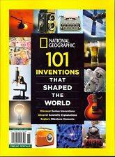 National Geographic Special - 101 Inventions That Shaped The World - FREE SHIP!