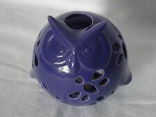 Pretty Cute Purple OWL Tealight Candle Holder