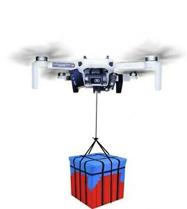 Mavic mini Drone Clip Payload Delivery Drop Transport Device Drone Release Fishi