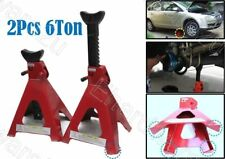 2Pcs 6Ton Car Jack Stand 2.5mm Thickness Steel (JS6T)