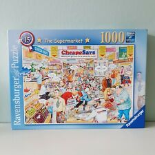 Ravensburger Puzzle The Supermarket 1000 Pieces (Unchecked)
