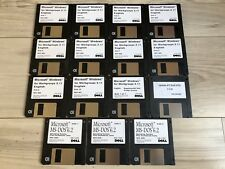 Microsoft Windows For Workgroups 3.11 Floppy Disks 1-10 & MS-DOS 6.2, Update ATI