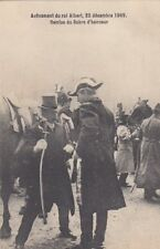 FOREIGN ROYALTY : 1909 BELGIUM-Accession of KIng Albert -Sword of Honour