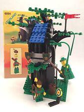 Vintage LEGO Castle ~ Set #6054 Forestmen's Hideout - Complete w/ Manual (1988)