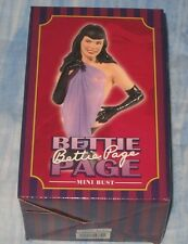 Dark Horse Deluxe Bettie Page Mini Bust Statue Figurine Limited Edition #0848