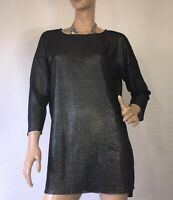 INTIMISSIMI SIZE L KNITTED METALLIC TOP AS NEW