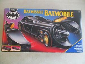 VINTAGE 1991 BATMAN RETURNS BATMISSILE BATMOBILE COMPLETE IN ORIGINAL BOX KENNER