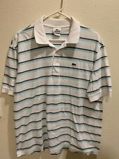 MENS LACOSTE SHORT SLEEVE POLO SHIRT SIZE L LARGE 6