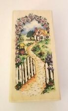 Cottage Path 1994 Stampendous Rubber Stamp New Roses Road