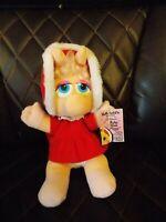 "McDonald's Miss Piggy Muppet Babies Plush Vintage Toy Doll 9"" w/ Original Tag"