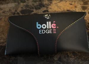 VINTAGE Bolle Micro Edge II Sunglasses France 13 M2 W/ Original Case Mint