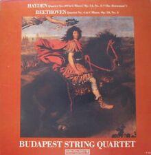 BUDAPEST STRING QUARTET - BEETHOVEN / HAYDN  - LP