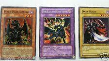 Dark Blade The Dragon Knight Rare Fusion + Dark Blade + Pitch Dark Dragon