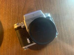 Pentacon Six TL Medium Format Camera with Zeiss Jena 80mm f/2.8 Lens
