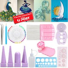 11pcs Paper Quilling Board Mould Crimper Comb Ruler Pins Tools Set DIY Craft Kit