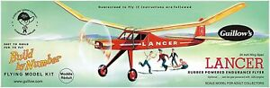 "Guillows 604 Lancer 24"" Model Kit Made in USA Free Shipping"