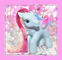 ❤️My Little Pony G3 Twirlerina 2006 Crystal Princess Pegasus Blue Pink Bow❤️