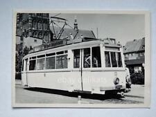 HALLE Germania TRAM tramway Straßenbahn treno vecchia foto 5