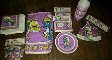 VINTAGE 1982 vintage Unique Smurfette party decorations- super rare