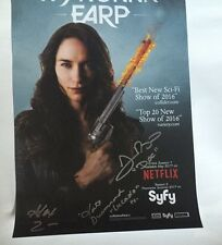 WonderCon 2017 EXCLUSIVE SIGNING WYNONNA EARP SYFY 11 X 17 INCHES RARE LIMITED
