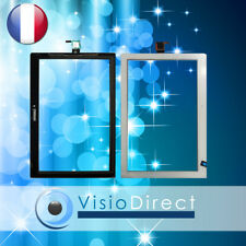 "Vitre ecran tactile pour Lenovo Tab 2 A10-30 X30F 10"" blanc"