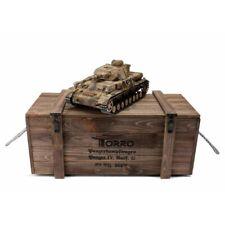 1:16 Torro German Panzer IV RC Tank 2.4GHz Infrared Metal Edition PRO