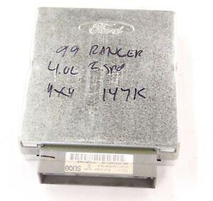 1999 Ford Ranger 4.0 L 5 Speed OEM Engine Computer ECM EEC XL5Z12A650BCA  179K