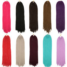 "UK SOFT FAUX LOC 20""Synthetic Crochet Braid Dread Locks Braiding Hair Extensions"