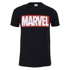 Marvel Mens  - Logo - T-Shirt - Black