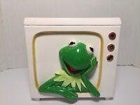 VTG HTF Rare Kermit The Frog On TV Cookie Jar  Tasteseller Sigma