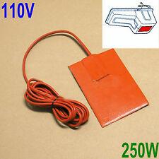 Engine Heater Oil Pan Tank Heater 250 Watt - 110 Volt Pad Heater CG