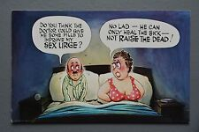 R&L Postcard: Bamforth 1095, Large Breast Woman, Poor Sex Life
