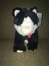 Carters Kitty Cat Plush Baby Girl Soft Stuffed Black White Lovey Toy 66974 New