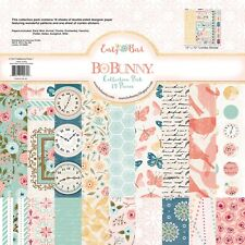 """American Crafts 12"""" x 12"""" BoBunny Early Bird Paper Pad Collection Kit - 19-Sheet"""