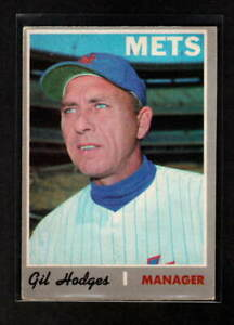 GIL HODGES 1970 O-PEE-CHEE NEW YORK METS # 394