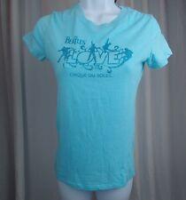 CIRQUE DU SOLEIL THE BEATLES Women's T Shirt Mirage Las Vegas Petite Small