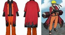 Naruto Uzumaki Sage Uniform Cosplay Costume