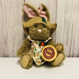 The Brass Button Bear Flora Hare Of Serenity Jointed Plush