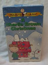 Peanuts A Charlie Brown Christmas VHS VIDEO 1997 BRAND NEW