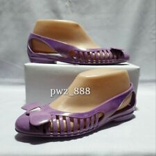 SALVATORE FERRAGAMO Jelly Flats Shoes Size 7