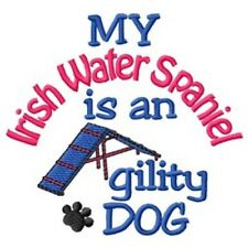 My Irish Water Spaniel is An Agility Dog Short-Sleeved Tee - Dc1910L