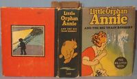 VINTAGE BIG LITTLE BOOK ORPHAN ANNIE & BIG TRAIN ROBBERY 1934 #1140 by H.GRAY