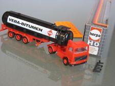 █► Volvo F10 TankSattel Veba Bitumen Werbe Promo herpa #800210 1:87 OVP