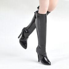 Long Boots High-heeled Shoe for 1/6 Custom Female Phicen Verycool Kumik doll