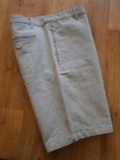 """Mens New Look Casual Shorts Light Blue, Diamond Check  SIze 34""""w"""
