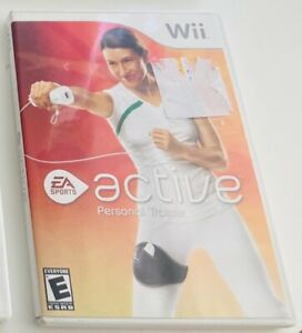 EA Sports Active Personal Trainer Nintendo Wii NTSC US Version Sports Video Game